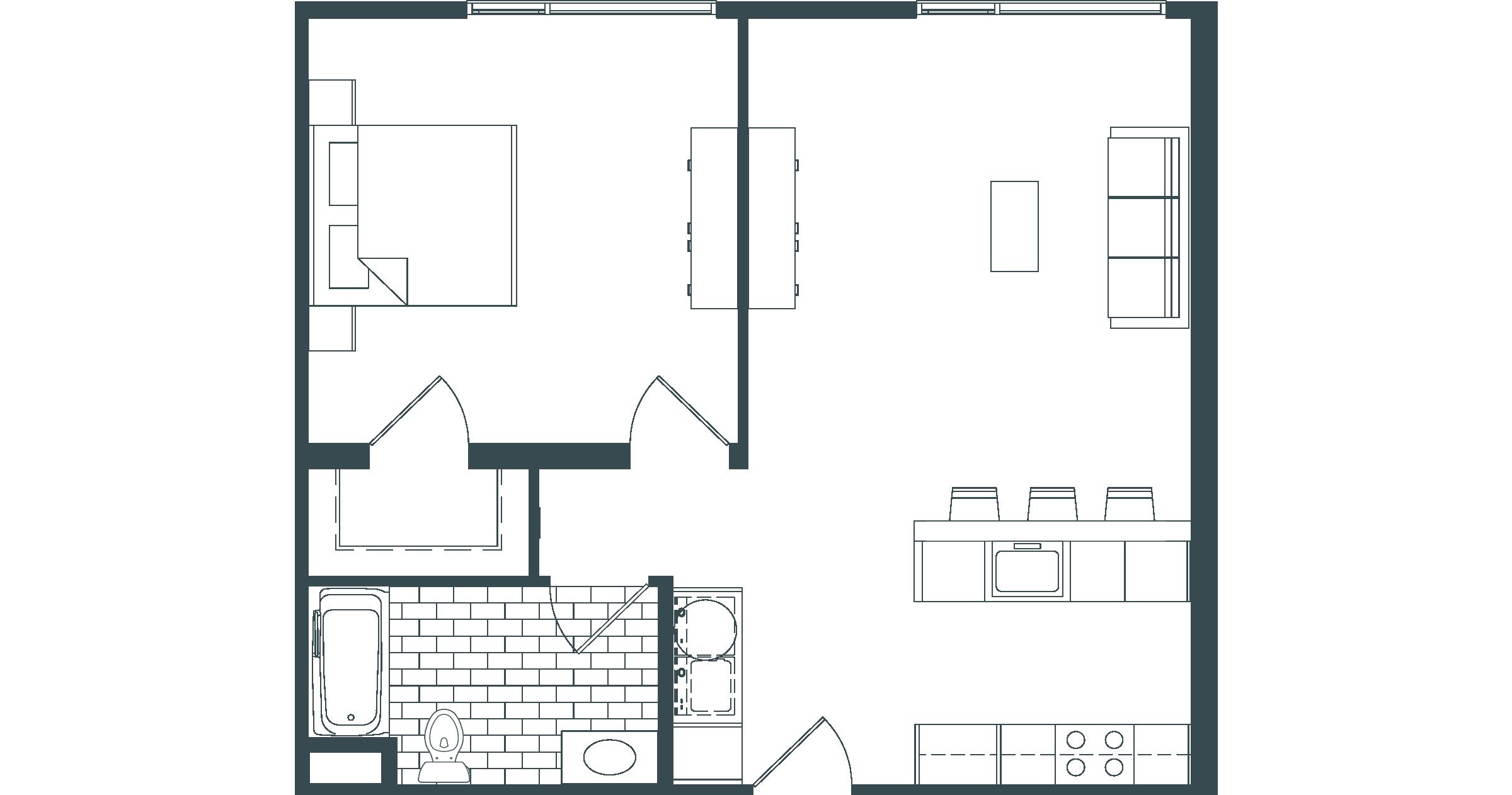 A1 Floorplan